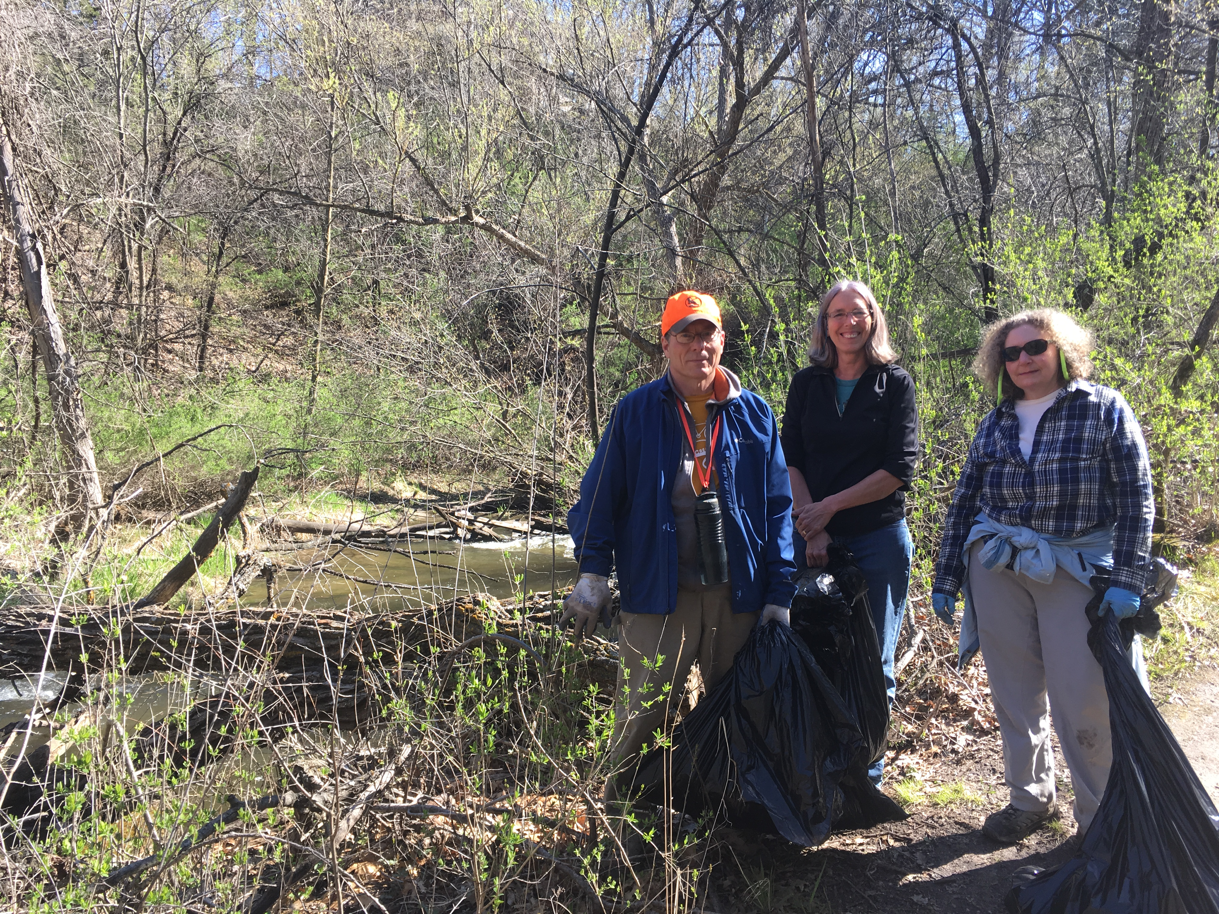 Purgatory Creek_2017Apr27_Eden Prairie Parks Clean Up Day Volunteer Group.JPG
