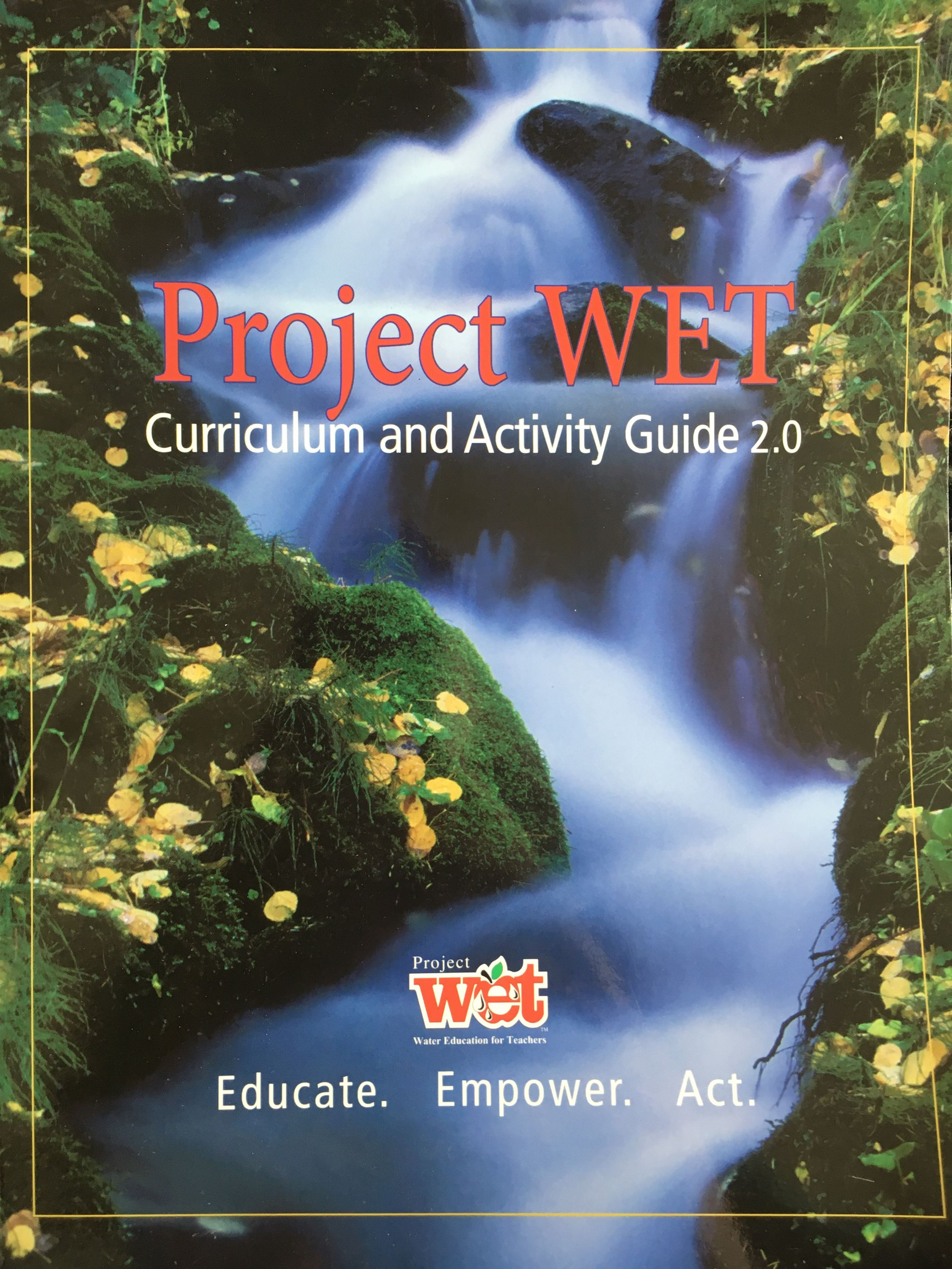 Project WET Activity Guide Cover